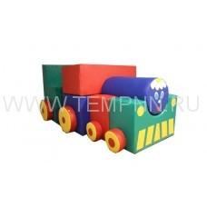 Детский игровой паровоз-трансформер