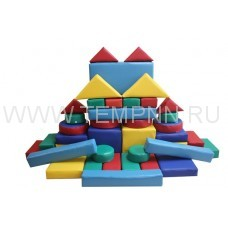 Детский игровой конструктор (43 единицы)